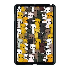 Cute Cats Pattern Apple Ipad Mini Case (black)