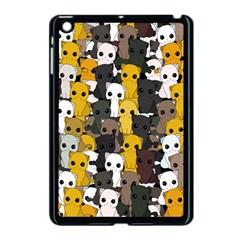 Cute Cats Pattern Apple Ipad Mini Case (black)