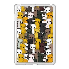 Cute Cats Pattern Apple Ipad Mini Case (white)
