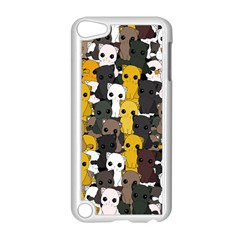 Cute Cats Pattern Apple Ipod Touch 5 Case (white)