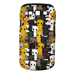 Cute Cats Pattern Samsung Galaxy S Iii Classic Hardshell Case (pc+silicone)