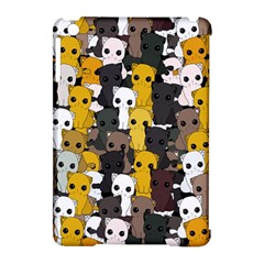 Cute Cats Pattern Apple Ipad Mini Hardshell Case (compatible With Smart Cover)