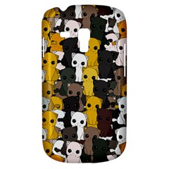 Cute Cats Pattern Galaxy S3 Mini