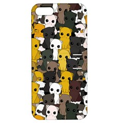Cute Cats Pattern Apple Iphone 5 Hardshell Case With Stand