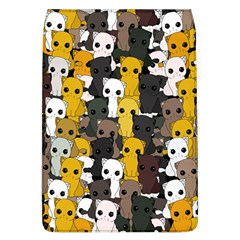 Cute Cats Pattern Flap Covers (l)