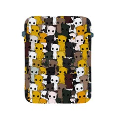 Cute Cats Pattern Apple Ipad 2/3/4 Protective Soft Cases
