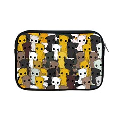 Cute Cats Pattern Apple Ipad Mini Zipper Cases