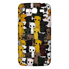 Cute Cats Pattern Samsung Galaxy Mega 5 8 I9152 Hardshell Case