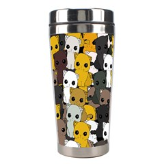 Cute Cats Pattern Stainless Steel Travel Tumblers