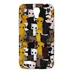 Cute Cats Pattern Samsung Galaxy Mega 6 3  I9200 Hardshell Case