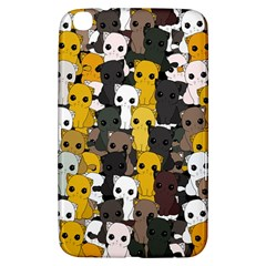 Cute Cats Pattern Samsung Galaxy Tab 3 (8 ) T3100 Hardshell Case