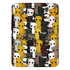 Cute Cats Pattern Samsung Galaxy Tab 3 (10 1 ) P5200 Hardshell Case