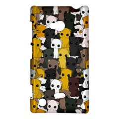 Cute Cats Pattern Nokia Lumia 720