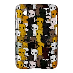 Cute Cats Pattern Samsung Galaxy Tab 2 (7 ) P3100 Hardshell Case