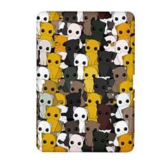 Cute Cats Pattern Samsung Galaxy Tab 2 (10 1 ) P5100 Hardshell Case