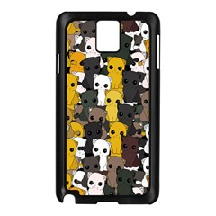Cute Cats Pattern Samsung Galaxy Note 3 N9005 Case (black)