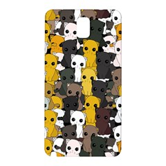 Cute Cats Pattern Samsung Galaxy Note 3 N9005 Hardshell Back Case