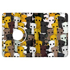Cute Cats Pattern Kindle Fire Hdx Flip 360 Case