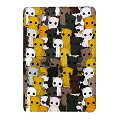 Cute Cats Pattern Samsung Galaxy Tab Pro 10 1 Hardshell Case