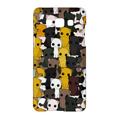 Cute Cats Pattern Samsung Galaxy A5 Hardshell Case