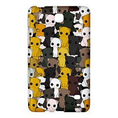 Cute Cats Pattern Samsung Galaxy Tab 4 (7 ) Hardshell Case