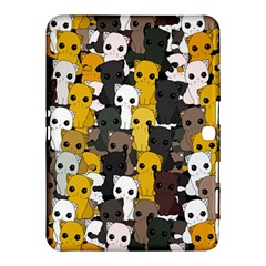 Cute Cats Pattern Samsung Galaxy Tab 4 (10 1 ) Hardshell Case