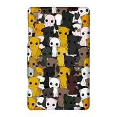 Cute Cats Pattern Samsung Galaxy Tab S (8 4 ) Hardshell Case