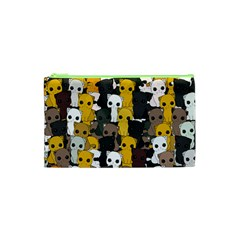 Cute Cats Pattern Cosmetic Bag (xs)