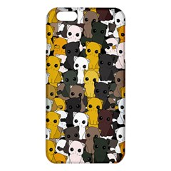 Cute Cats Pattern Iphone 6 Plus/6s Plus Tpu Case