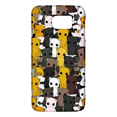 Cute Cats Pattern Galaxy S6