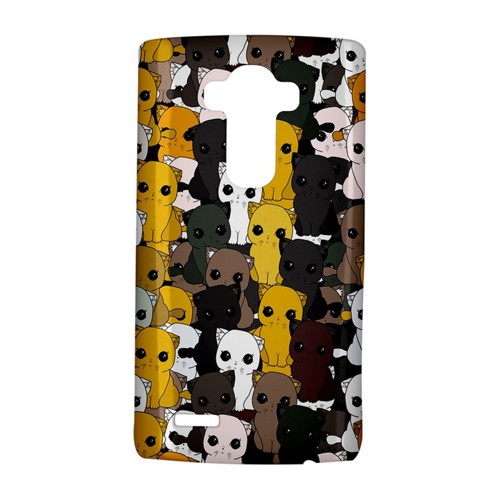 Cute cats pattern LG G4 Hardshell Case