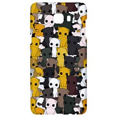 Cute Cats Pattern Samsung C9 Pro Hardshell Case