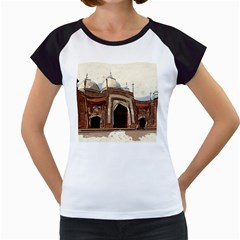 Agra Taj Mahal India Palace Women s Cap Sleeve T