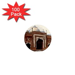 Agra Taj Mahal India Palace 1  Mini Magnets (100 Pack)