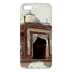 Agra Taj Mahal India Palace Apple Iphone 5 Premium Hardshell Case