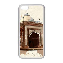 Agra Taj Mahal India Palace Apple Iphone 5c Seamless Case (white)