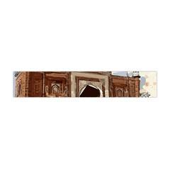 Agra Taj Mahal India Palace Flano Scarf (mini)