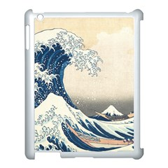 The Classic Japanese Great Wave Off Kanagawa By Hokusai Apple Ipad 3/4 Case (white)