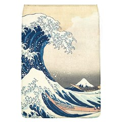 The Classic Japanese Great Wave Off Kanagawa By Hokusai Flap Covers (l)