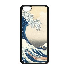 The Classic Japanese Great Wave Off Kanagawa By Hokusai Apple Iphone 5c Seamless Case (black)
