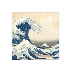 The Classic Japanese Great Wave Off Kanagawa By Hokusai Satin Bandana Scarf