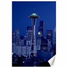 Space Needle Seattle Washington Canvas 24  X 36