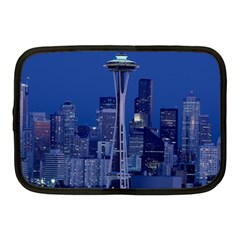 Space Needle Seattle Washington Netbook Case (medium)