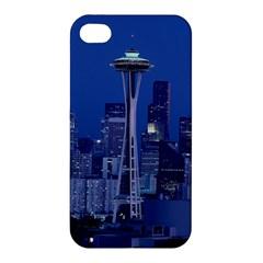 Space Needle Seattle Washington Apple Iphone 4/4s Premium Hardshell Case