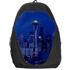 Space Needle Seattle Washington Backpack Bag