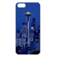 Space Needle Seattle Washington Apple Iphone 5 Seamless Case (white)