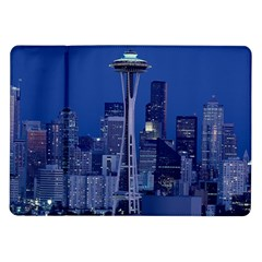 Space Needle Seattle Washington Samsung Galaxy Tab 10 1  P7500 Flip Case