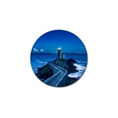 Plouzane France Lighthouse Landmark Golf Ball Marker