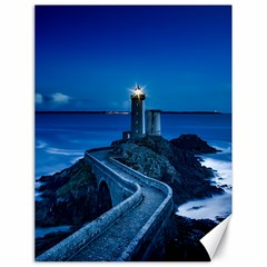 Plouzane France Lighthouse Landmark Canvas 18  X 24
