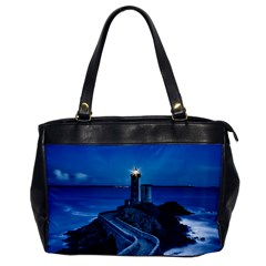 Plouzane France Lighthouse Landmark Office Handbags